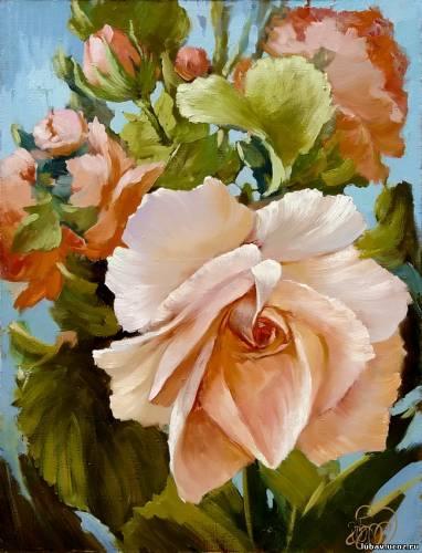 Антон Горцевич-Роза, oil on canvas